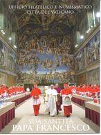VATICAN - 2013 - Nouveau Pontificat Du Papa François   Folder Complet Avec Toutes Les Cartes - Vatican