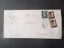 REGNO ITALIA BIGLIETTI CON OVALE DI FRANCHIGIA COMUNALE ARENA REGIE POSTE 1931 - 1900-44 Victor Emmanuel III