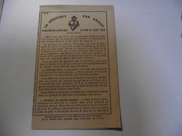 La Pénitence Par Amour , 1884,  Petit Fascicule - Religion & Esotérisme