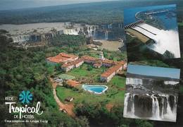Brésil Hotel Das Cataratas Iguaçu Parana Vista Aérea Do Hotel (2 Scans) - Curitiba