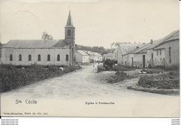 FONTENOILLE ..-- Nels 40 , N° 141 . De IZEL Vers BRUXELLES ( Mme Gustave NEYS ) . Voir Verso . - Florenville