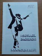 """MICHAEL JACKSON Im Kinofilm """"MOONWALKER"""" / NFK-LuxusFilmProgramm (12 Seiten, TOP-Fotos) /a182 - Magazines"""