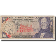 Billet, Venezuela, 50 Bolivares, 1988-11-03, KM:65b, B - Venezuela