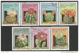 930 Vietnam Fleurs Cactus Cactii Flowers (VIE-93) - Cactus