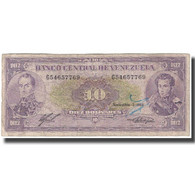 Billet, Venezuela, 10 Bolívares, 1988-11-03, KM:62, TB - Venezuela