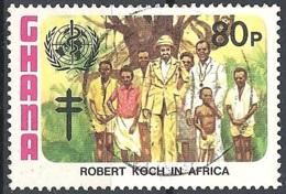 Ghana, 1982 Child Immunization, 80p # S.G. 1011 - Michel 956 - Scott 814  USED - Ghana (1957-...)