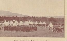 Royal Canadian Horse Artillery At Valcartier Camp, Quebec - Regiments