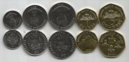 Haiti 1995-2011. UNC Coin Set - Haïti