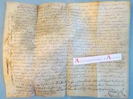 Parchemin Manuscrit 1782 - Vente - Combet - Reynaud - Cachet Généralité - XVIIIè - Manuscrits
