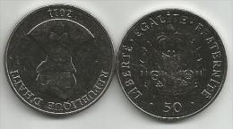 Haiti 50 Centimes 2011. High Grade - Haïti