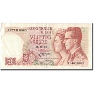 Billet, Belgique, 50 Francs, 1966-05-16, KM:139, SUP - 50 Francs
