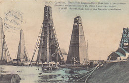 Bacou - Sourakhany - Après Une Fontaine Grandieuse - 1913  (190114) - Azerbaigian