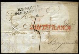Ed. 15R - CANTABRIA. Santander. 1822. Carta Fechada En Santander En El Año 1822 - Spain