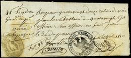 "NAVARRA. Pamplona. 1810. Marca ""18 Escuadrón Gendarmeria De España"" Ejército Francés En España - Spain"