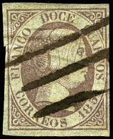 "Ed. 0 7 - Mat. ""Pluma"" (raro Matasello).Muy Bonito - Unused Stamps"