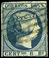 Ed. 0 21 Falso Sperati (marca Al Dorso).Precioso - Unused Stamps