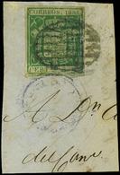Ed. 26 Fragmento. Precioso. - Unused Stamps