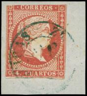 "Ed. 0 48 - Mat. Fechador Tp. I ""Algeciras-Cádiz"" (azul). No Reseñado. Precioso. Muy Raro. - Unused Stamps"
