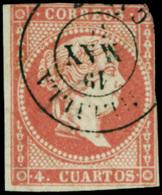 "Ed. 0 48 - Mat. Fechador Tp. II ""Melilla-Cádiz"" Precioso. Muy Raro. - Unused Stamps"