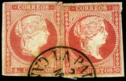"Ed. 0 48(2) - Mat. Fechador Tp. I ""La Palma-Canarias"" Muy Raro - Unused Stamps"