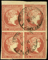 "Ed. 0 48 Bl.4 - Borde Hoja.Mat.Fechador Tp. I ""Torrelavega-Cantabria"". Precioso. Raro. - Unused Stamps"