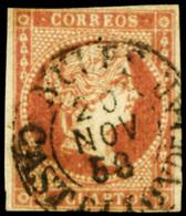 "Ed. 0 48 - Mat. Fechador Tp. I ""Nules-Castellón"" Lujo. Muy Raro. - Unused Stamps"