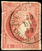 "Ed. 0 48 - Mat. Fechador Tp. II ""Puerto Lapiche-Ciudad Real"" Precioso. Muy Raro. - Unused Stamps"