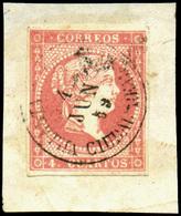 """Ed. 48 - Mat. Fechador Tp. II Villarta De San Juan-Ciudad Real"""" Precioso. Muy Raro. - Unused Stamps"""