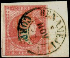"Ed. 48 - Mat. Fechador Tp. I ""Benamejí-Córdoba"" (azul). Lujo. Muy Raro. - Unused Stamps"