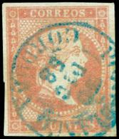 "Ed. 0 48 - Mat. Fechador Tp. I ""Pozoblanco-Córdoba"" (azul). Precioso. Raro. - Unused Stamps"