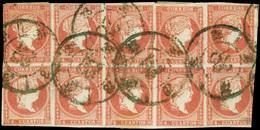 """Ed. 0 48 Bl.10 - Mat. R.C. """"28-Huelva"""" Precioso. Raro. - Unused Stamps"""