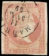 """Ed. 0 48 - Mat. Fechador Tp. II""""Madrid (1)"""" Lujo. - Unused Stamps"""