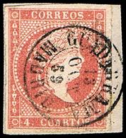 "Ed. 0 48 - Mat. Fechador Tp. II ""Guadarrama-Madrid"" Lujo. - Unused Stamps"