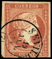 "Ed. 0 48 - Mat. Fechador Tp. II ""Sevilla (7)"" Lujo. - Unused Stamps"