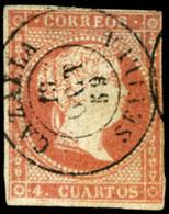 "Ed. 0 48 - Mat. Fechador Tp. II ""Cazalla-Sevilla"" Lujo. Muy Raro. - Unused Stamps"