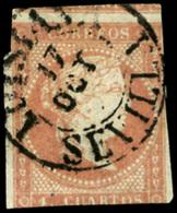 """Ed. 0 48 - Mat. Fechador Tp. I """"Lusiana-Sevilla"""" (sin Año). Precioso. - Unused Stamps"""