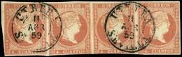 """Ed. 0 48 Tira 4 - Mat. Fechador Tp. I """"Utrera-Sevilla"""" - Unused Stamps"""