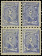 Galvez A101 Bl.4 - Alfonso XIII. 40Cts - Nuevos