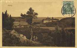 BURG  + Timbre Cachet RV Potrait Au Crayon - Burg