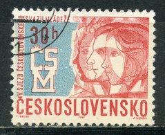 Y85 Czechoslovakia 1967 1675 5th Congress Of The Czech Youth Federation - Enfance & Jeunesse
