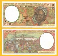 Central African States 2000 Francs Equatorial Guinea (N) P-503Ng 20000 UNC - États D'Afrique Centrale
