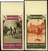 "Ed. *** 200M/16M Borde Hoja. Al Dorso ""Archivo Del Instituto Gráfico De Oliva De Vilanova.Muestra""Rara - Marruecos Español"