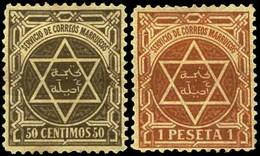 Ed. 0 9+*11-13-14 Tánger-Arcila. Cat. 124,50€ - Marruecos Español