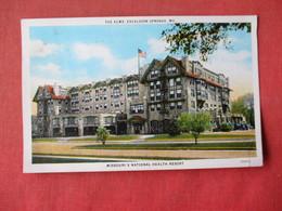 - Missouri  National Health Resort-- The Elms --  Excelsior Springs - Missouri >  Ref 3164 - Other