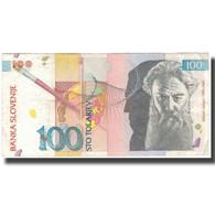 Billet, Slovénie, 100 Tolarjev, 1992-01-15, KM:14A, TTB - Slovenia