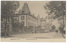 Caserne D'artillerie à Saarburg I. L. - Casernes