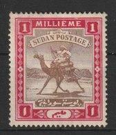 MiNr. 9 - 16  Sudan 1898, 1. März. Freimarken: Kamelreiter. - South Sudan