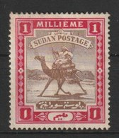 MiNr. 9 - 16  Sudan 1898, 1. März. Freimarken: Kamelreiter. - Südsudan