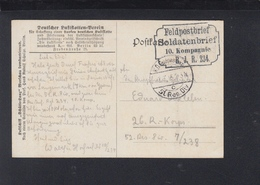 Dt. Reich AK Zeppelin über Warschau Feldpost 1915 - Deutschland