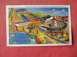 1933 Chicago Worlds Fair   Enchanted Island Playground For Children   Ref 3164 - Exhibitions